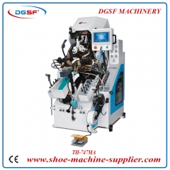 Computerized Automatic Shoe Toe Lasting Machine