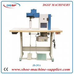 Automatic gluing and edge hammering machine JD-295A