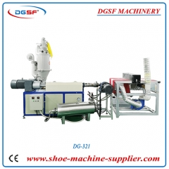 PP(65)Cofiguration of melt blown cloth production single screw extruder DG-321
