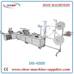Full automatic 1+1 lip language plane mask machine